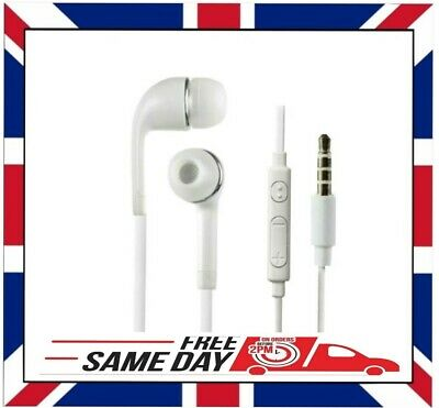 IN EAR 3.5mm WHITE EARPHONES EXTRA BASS For IPHONE IPOD SAMSUNG HTC NOKIA SONY  • 3.68£