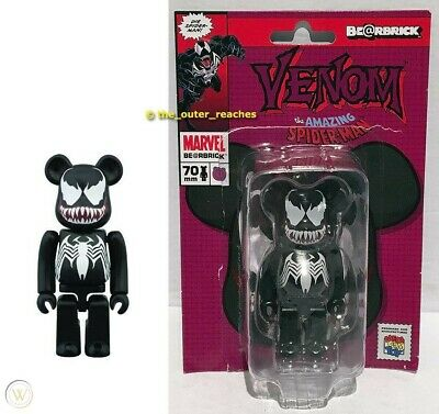 $112.49 • Buy Venom Bearbrick 100% Black Marvel The Amazing Spiderman Medicom Be@rbrick NEW