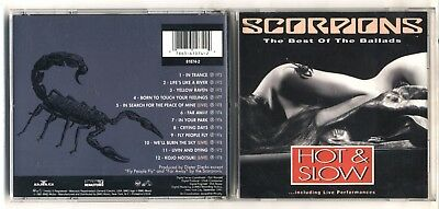 £5.14 • Buy Cd SCORPIONS Hot & Slow The Best Of The Ballads PERFETTO 1991
