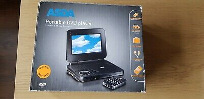 7  Screen Portable Dvd Player Used • 8£