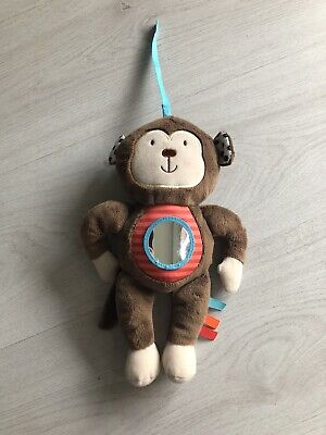 £9.99 • Buy Carousel Tesco Monkey Mirror Musical Taggie Soft Toy Buggy Toy