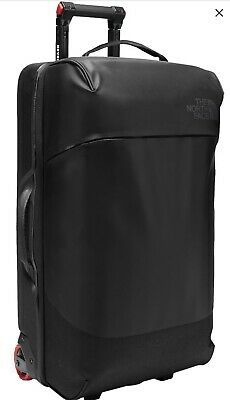 "The North Face Stratoliner Large 30"" Rolling Clamshell Suitcase Black RRp £250 • 180£"