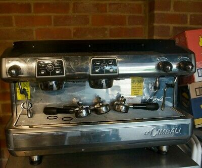 Commercial Coffee Machine 2 Group La Cimbal M24 • 2,500£
