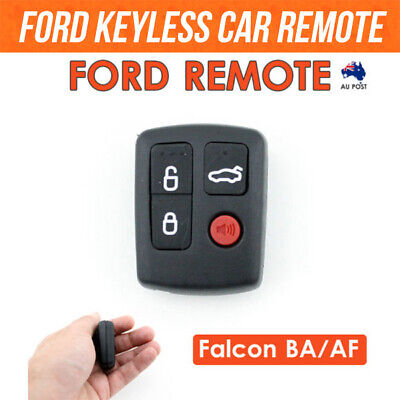 AU7.90 • Buy For Ford Remote Control BA/BF Falcon Sedan/Wagon Keyless Entry 4 Button Battery