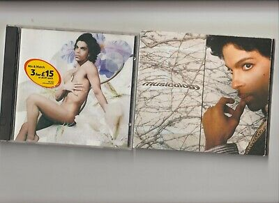 Prince : Lovesexy + Musicology / TWO  CD Albums  • 3.89£
