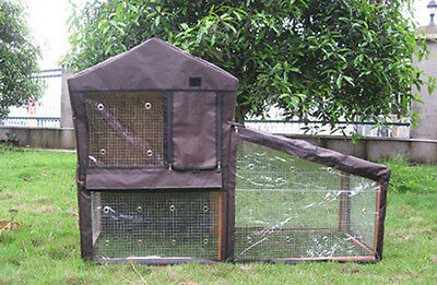 Bunny Business Hutch Cover To Fit The Bf1 Double Decker Hutch And Run • 14.99£