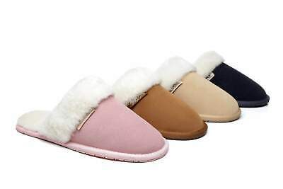 AU41.99 • Buy 【ON SALE】UGG-Slippers/Scuffs,Australian Sheepskin Inline & Suede Upper,Unisex