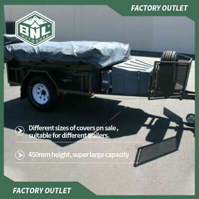 AU190 • Buy PVC Travel Covers For Camper Trailer Tent, New Upgrade, More Sizes.