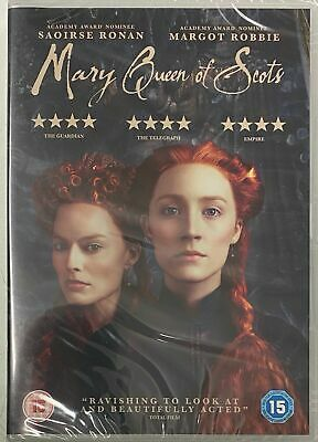 Mary Queen Of Scots (DVD, 2018). Margot Robbie New Sealed  • 4.95£