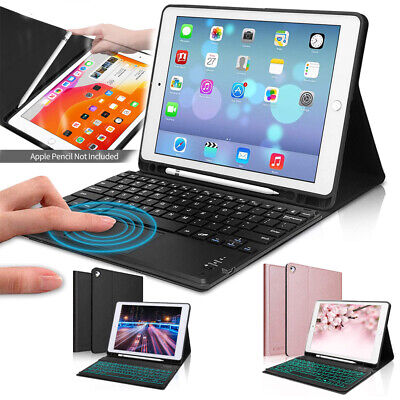 AU18.95 • Buy For IPad 7th 8th Gen 10.2 2020 Bluetooth Keyboard Case Cover With Pencil Holder