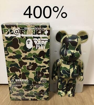 $500 • Buy Medicom Toy BE@RBRICK Bearbrick A Bathing Ape Bape Camo 400% Free Shipping