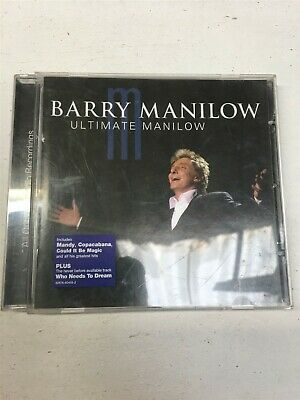 Barry Manilow - Ultimate Manilow - Music CD • 2.45£