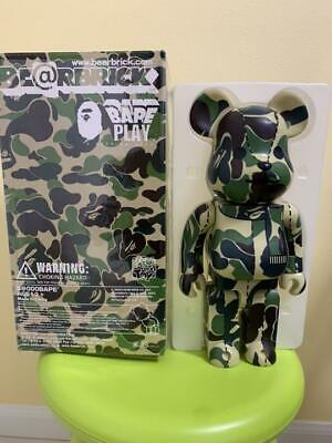 $510 • Buy Medicom Toy BE@RBRICK Bearbrick A Bathing Ape Bape Camo Camouflage 400%