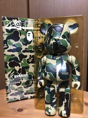 $440 • Buy Medicom Toy BE@RBRICK Bearbrick Beautiful Item A Bathing Ape Bape 400%