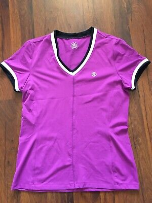 £25.99 • Buy Womens Girls Poivre Blanc Tennis Gym Active Top Purple Size M New No Tags