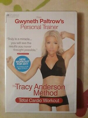 The Tracy Anderson Method Total Cardio Workout New & Sealed - Region 2 Dvd  • 1.99£