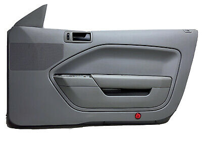 $134.99 • Buy 05-09 Mustang GRAY Right Passenger Door Trim Panel Armrest Handle OEM X4001