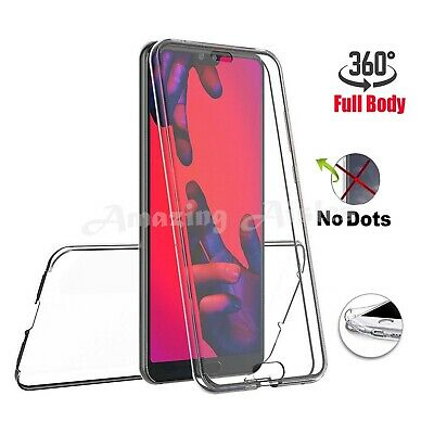 360 Full Protection Gel Silicone Case Cover For Huawei P20 P30 P40 Pro Lite • 3.75£