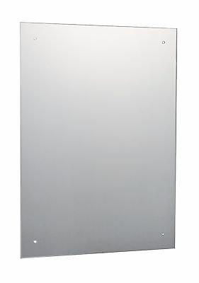 £15.45 • Buy Frameless Unframed Bathroom Mirror With Pre Drilled Holes & Wall Hanging Fixings