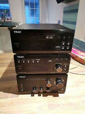 TEAC T-H380DNT DAB Tuner, A-H380 Integrated Stereo Amp,PD-H380 CD Player +Remote • 359£