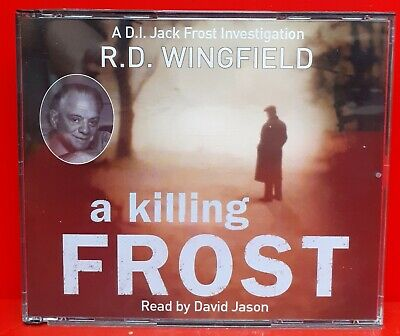 A Killing Frost  Audiobook On CD By R.D. Wingfield • 8.99£