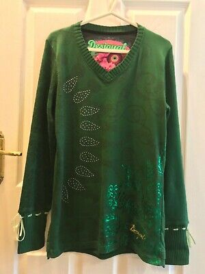 Fabulous Desigual Long Sleeve Warm Top, XXL(Up To 40' Bust), New Without Tags • 29.50£