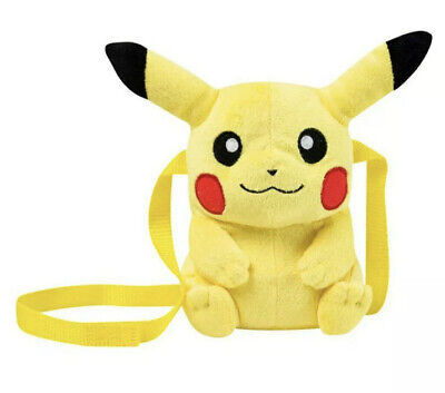 Sanrio Pokemon Pikachu Plush Crossbody Bag • 9.95£