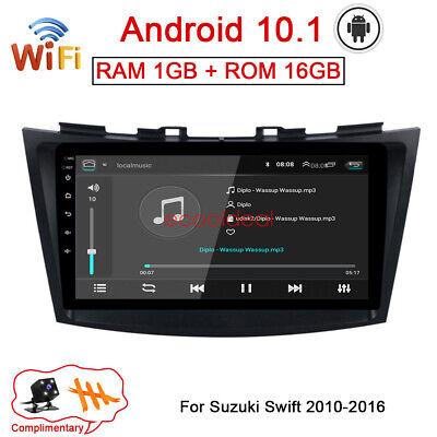 AU218.93 • Buy Android 10.1 GPS Navi Radio Stereo Wifi Car DVD Player For Suzuki Swift 2010-16