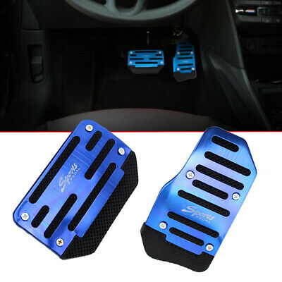 £5.33 • Buy Universal Non-Slip Automatic Gas Brake Foot Pedal Cover Pad Accessories Kit Blue