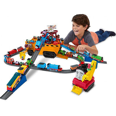 Thomas Tank Engine Toy Train Track Set Friend Super Cruiser 2-in-1 Vehicle Truck • 28.99£