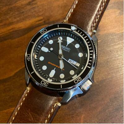 $ CDN645.04 • Buy SEIKO SKX007 Black Boy Custom MOD Wristwatch  [4-893
