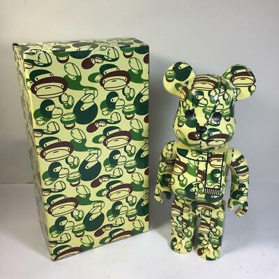 $550 • Buy Medicom Toy BE@RBRICK Bearbrick A Bathing Ape Bape Camo Green 400%
