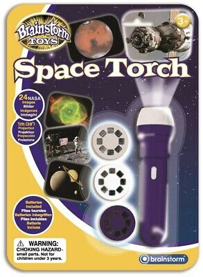 Brainstorm Space Torch And Projector Educational Astro Toy • 7.49£