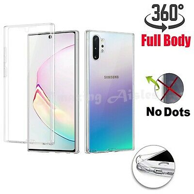 Case For Samsung Galaxy Note 9 10 Plus Lite 360 Shockproof Silicone TPU-PC Cover • 3.79£