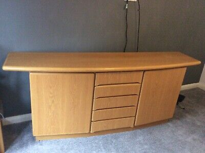 Large Sideboard By Skovby Contemporary Buffet Credenza Light Wood RS26E • 72£