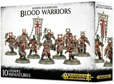 AU86.95 • Buy Blades Of Khorne Blood Warriors AOS