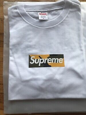 $ CDN190.11 • Buy Supreme Brooklyn Box Logo Tee Medium M Brand New