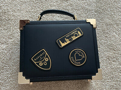 Aspinal Of London Trunk Clutch Bag Black EBL • 199£