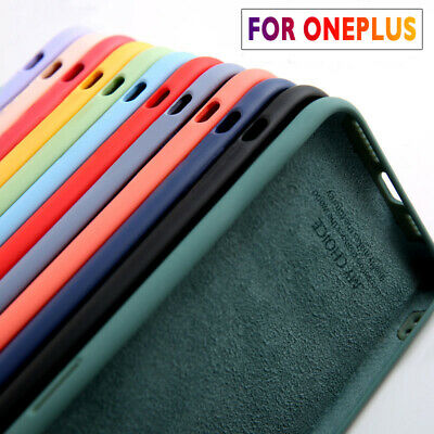 AU5.42 • Buy Phone Case For OnePlus 9 8 Pro 7T 7 Pro 6 6T 5T Nord Soft Liquid Silicone Cover