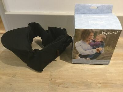 BOXED Vgc BLACK HIPPYCHICK HIPSEAT 6 MONTHS TO 3 YEARS Back Support • 23.99£