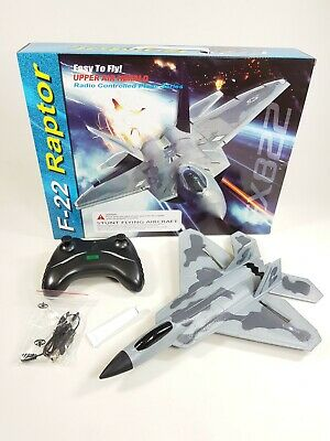 UK F22 Jet Fighter Wing Remote Control Aircraft RC Airplane Plane Model Toy 2.4G • 32.99£