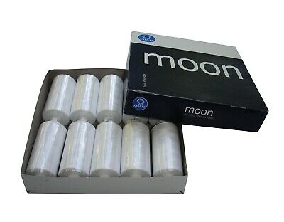 £8.95 • Buy Coats Moon Sewing Machine Polyester Thread Cotton 1000 Yards X 10 Cops WHOLE BOX