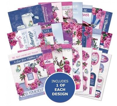 Hunkydory The Little Book Of Promises Sample Pack 24 Sheets X A6 150gsm • 2.99£