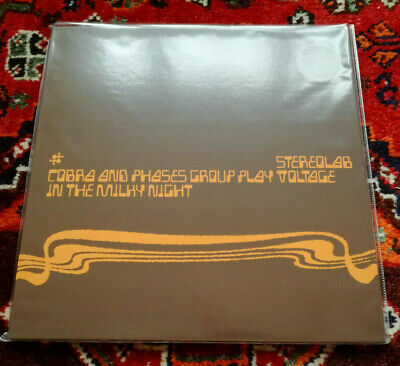 STEREOLAB**COBRA & PHASES....IN THE MILKY WAY**UK 3 CLEAR VINYL LPs LIM/ED**MINT • 34.50£