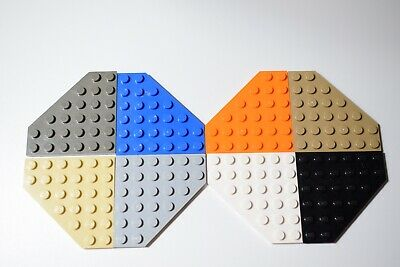 Lego 6106 Plate Corner Wedge Of 6 X 6 • 4.99£