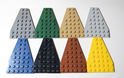 Lego 50304 50305 Plate Wing Wedge 3x8 Select Colour Pack Of 6 - 3 Pairs • 4.99£