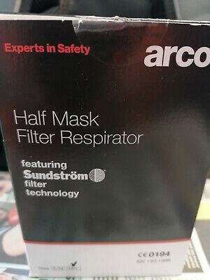Sundstrum Half Mask Respirator By Arco With A Free P3 Filter • 17£