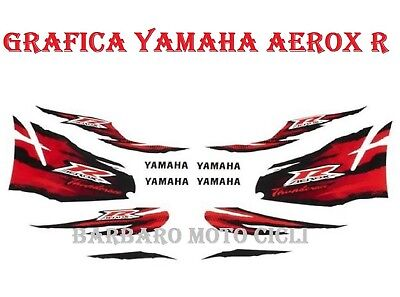 Stickers Kit Graphic Original Yamaha Aerox R 50 From 2012 A 2019 Stickers Set • 45.96£