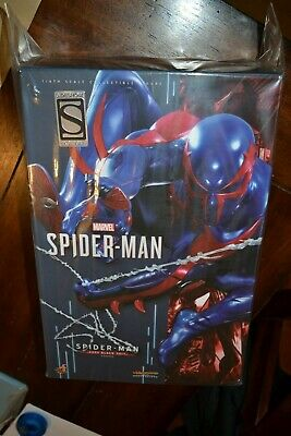 $ CDN405.97 • Buy Hot Toys Sideshow Exclusive Spiderman Spider Man 2099 Black Suit VGM42 IN HAND