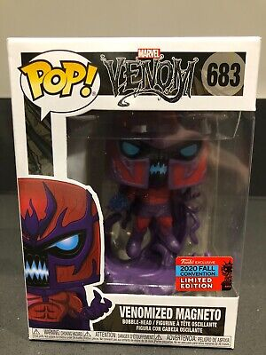 Funko Pop Marvel Venom - Venomized Magneto *NYCC 2020* +protector **CONFIRMED** • 36£